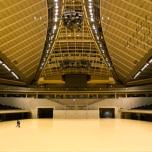 ばぼみわ会が、東京体育館を貸し切ってバレーボールとバドミントンのイベントを開催