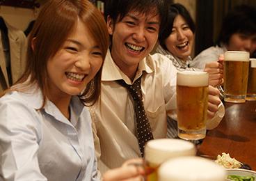 飲み会イベントを開催している画像